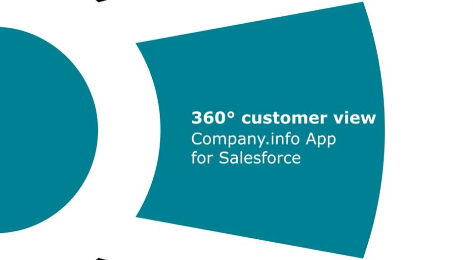 Company.info App voor Salesforce