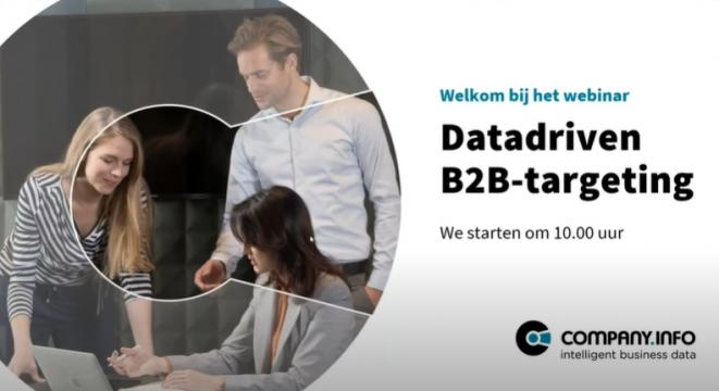 Webinar: Datadriven B2B-targeting Logo