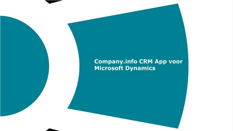 CRM App voor Microsoft Dynamics