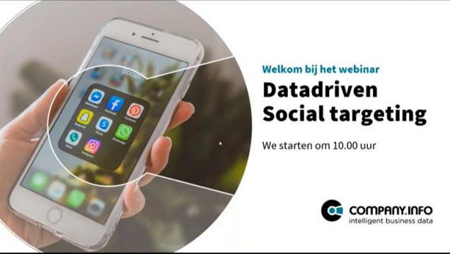 Webinar: Social Targeting Logo