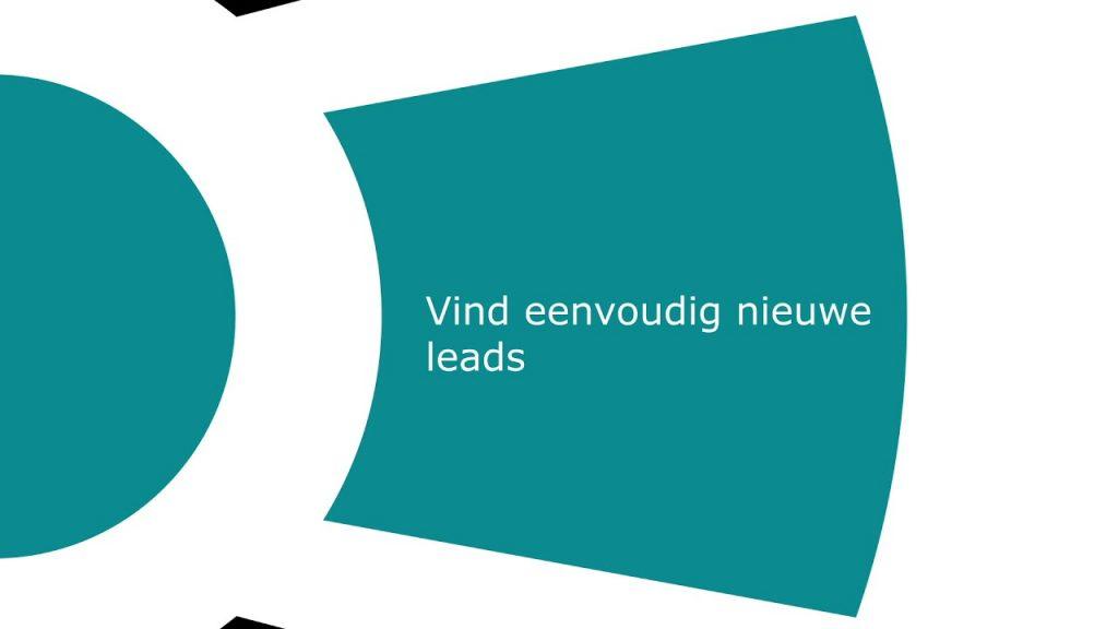 Vind eenvoudig leads
