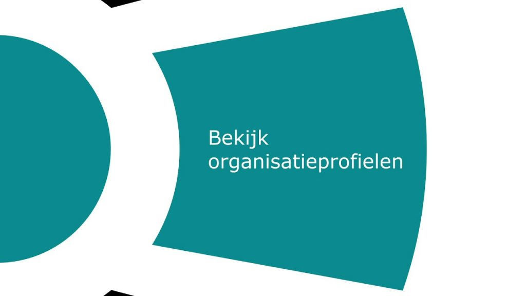 Bekijk organisatieprofielen