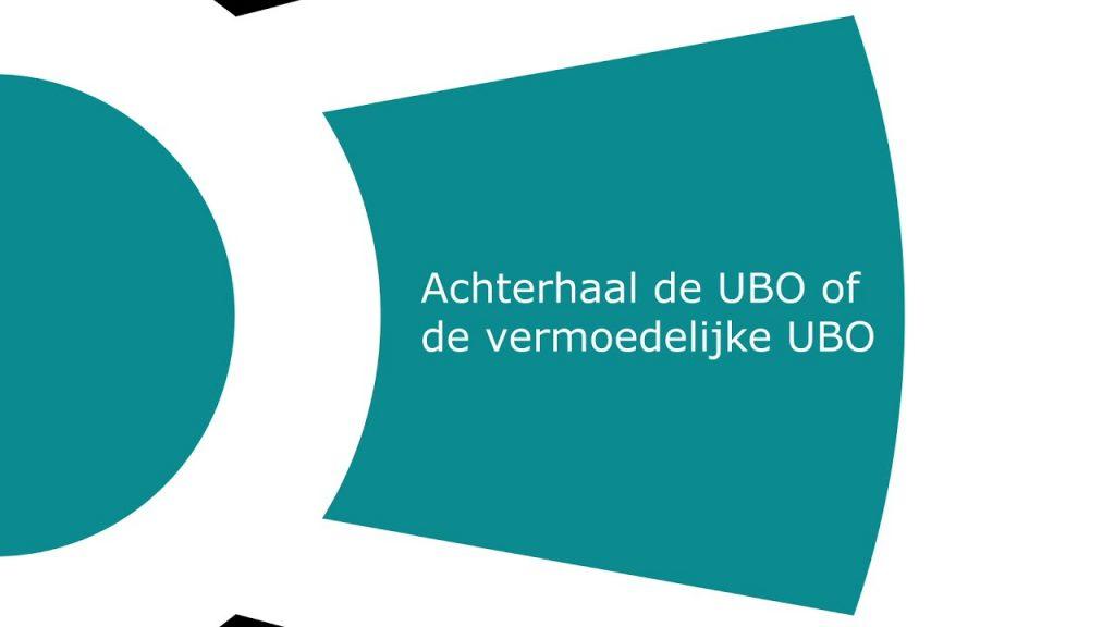 Achterhaal de (vermoedelijke) UBO